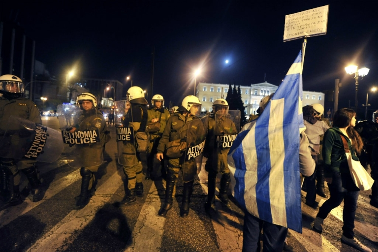 <p>Expect riots in Greece.</p>