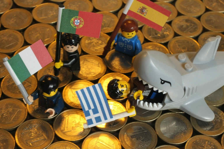 <p>Most Germans believe Greece should be thrown overboard.</p>