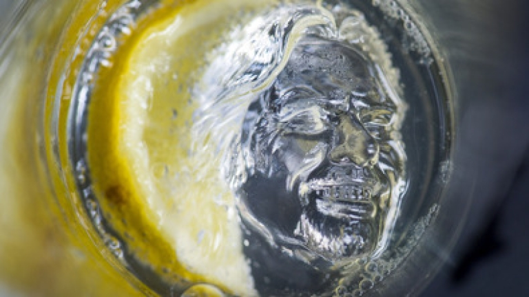 <p>Fancy a drink with Sir Richard Branson? You can have now have one on Virgin Atlantic — until he melts.</p>