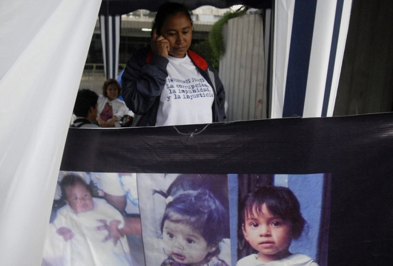 <p>Many Guatemalan mothers say their children were snatched away, only to be put up for adoption in the U.S.</p>