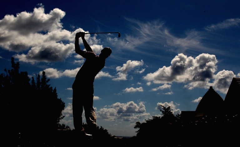 <p>An idyllic setting: Martin Kaymer of Germany is seen during the first round of the 2010 PGA Grand Slam at The Port Royal Golf Course in October, 2010 in Southampton, Bermuda.</p>