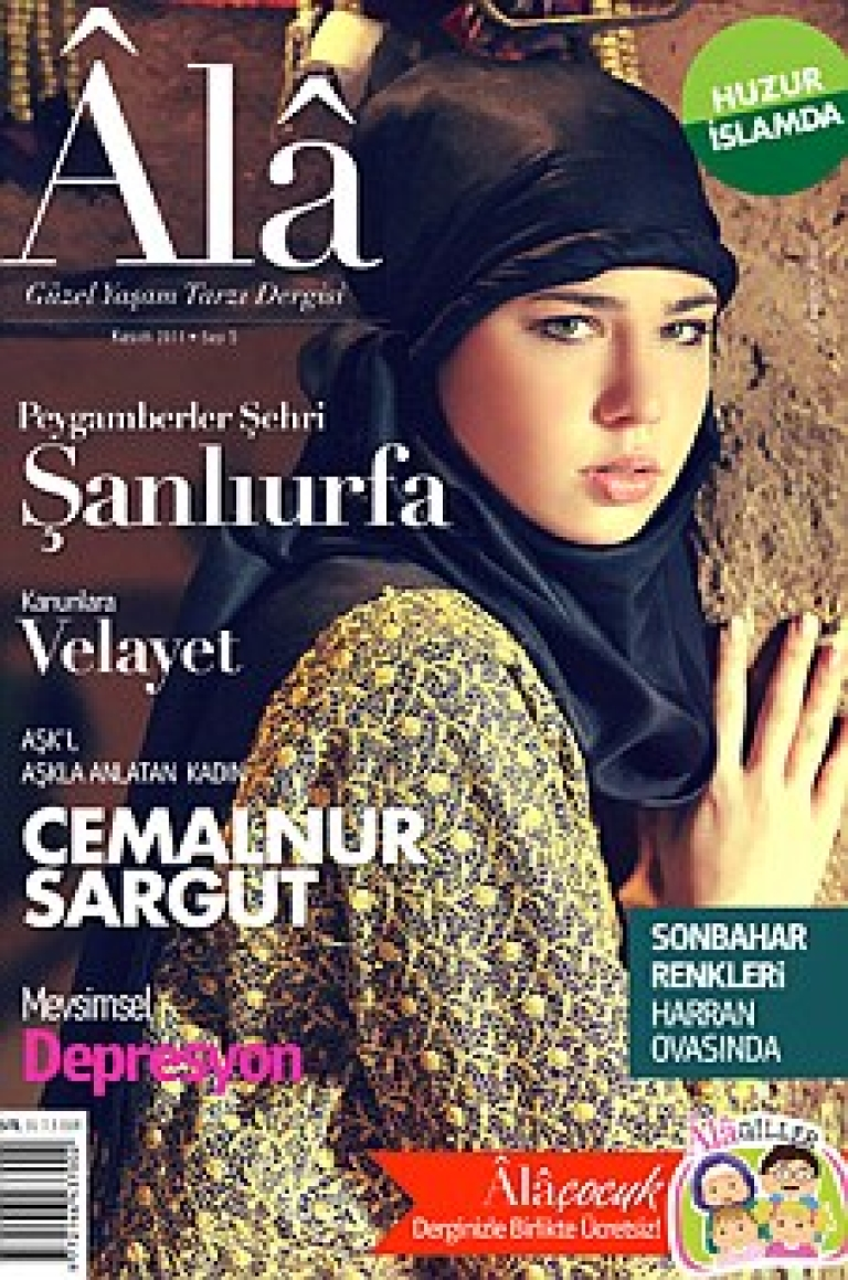 <p>Alâ, a Turkish magazine that only shows women in headscarves, is a hit.</p>
