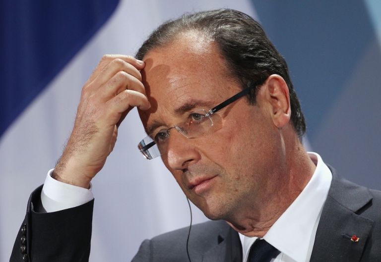 <p>French President François Hollande has just seen his much-hyped