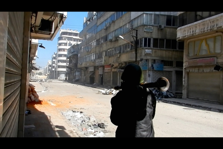 <p>Devastation in Homs is proof that Syrian rebels don't have the firepower to beat Syrian army, but they have other ways of removing the Assad regime.</p>
