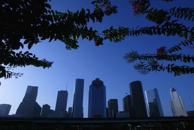<p>Houston, whose skyline is pictured here, is America's fourth-largest city.</p>