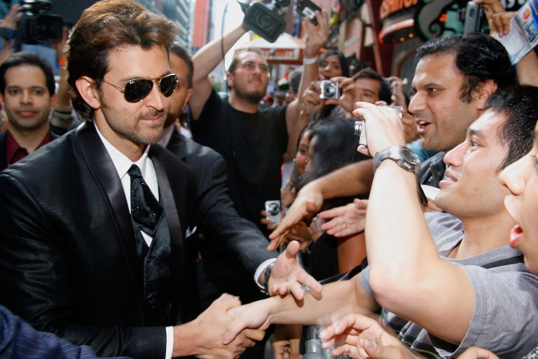 <p>For the second year in a row, Bollywood star Hrithik Roshan was crowned Asia's sexiest man in an online survey by the UK-based Eastern Eye newspaper.</p>