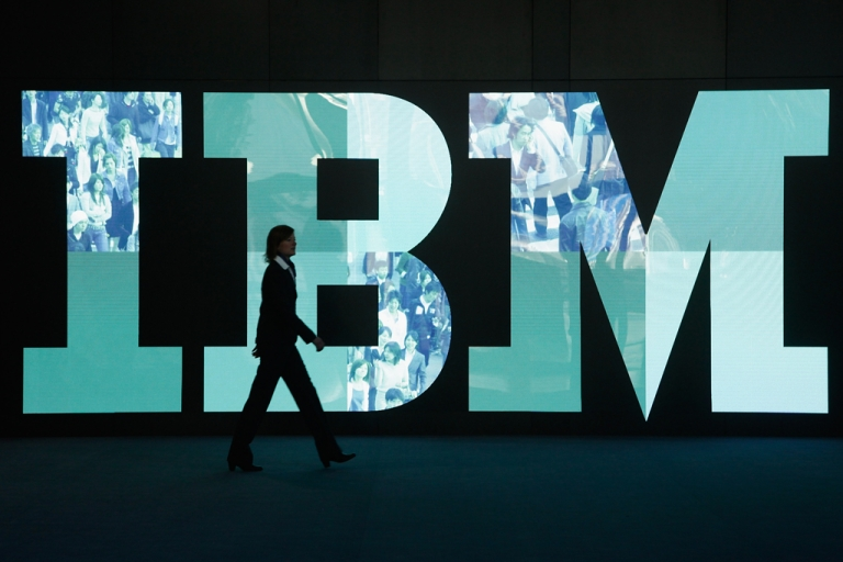 <p>IBM  (Photo by Sean Gallup/Getty Images)</p>