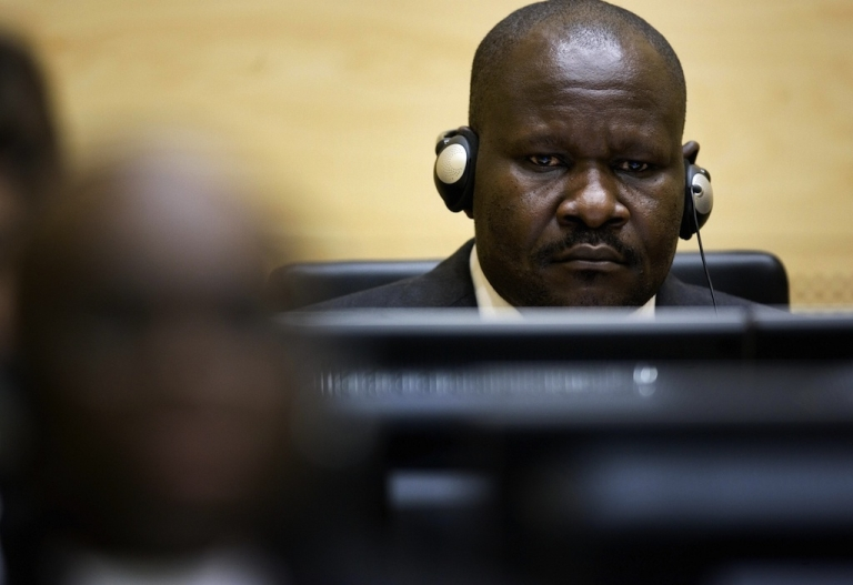<p>Congolese Mathieu Ngudjolo, 37, is seen at the International Criminal Court in The Hague, on Februrary 11, 2008. Ngudjolo, an army colonel and former rebel leader has been acquitted of charges that he lead a 2003 attack on a village in the country's lawless east that left 200 civilians dead, the International Criminal Court announced.</p>