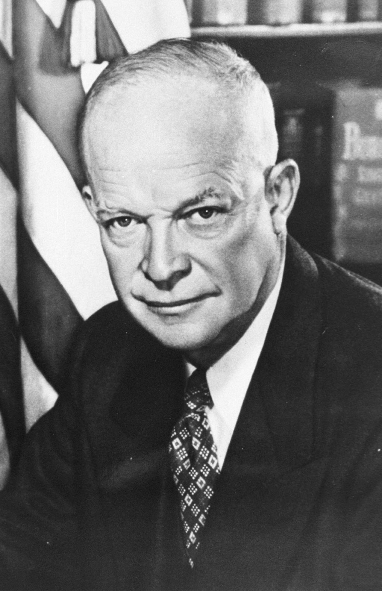 <p>Dwight David Eisenhower - a Republican President today's UK Labour Party can do business with.</p>