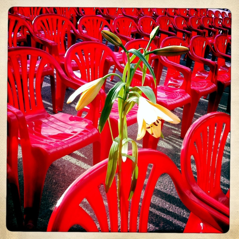 <p>Bosnians remember the 11,541 civilians killed in the 1992 massacre by assembling the same number of red chairs along Titova Street, Sarajevo's main thoroughfare in April 2012.</p>
