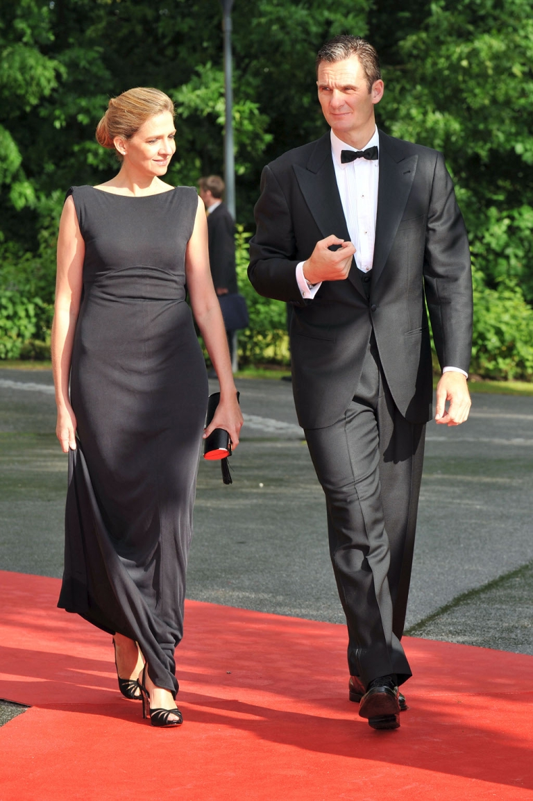 <p>Iñaki Urdangarin and his wife Princess Cristina on official duty last year.  The couple will no longer be given any official duties.</p>