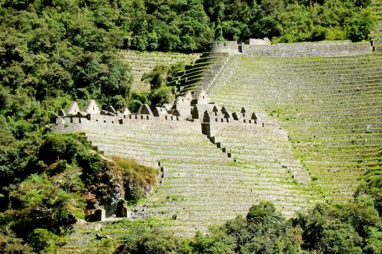 <p>A June 2011 photo of the Winay Wayna ruins, an archaeological gem located on the Inca Trail just outside of Machu Picchu. Most tourists bypass the Inca Trail and head straight to Machu Picchu via buses, therefore missing out on the chance to observe this ancient village and its flowing fountains.</p>