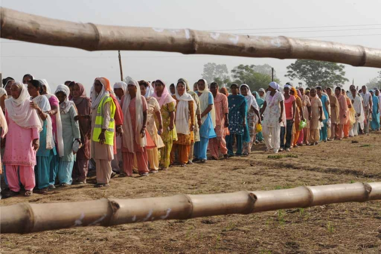 <p>The outskirts of Jalandhar in India's Punjab state.</p>