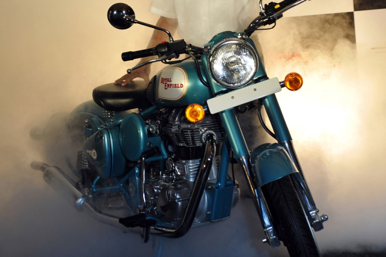<p>Royal Enfield Motorcycles, which pioneered four stroke motorcycle engine technology in India in 1955, is the oldest existing motorcycle company in the world.</p>