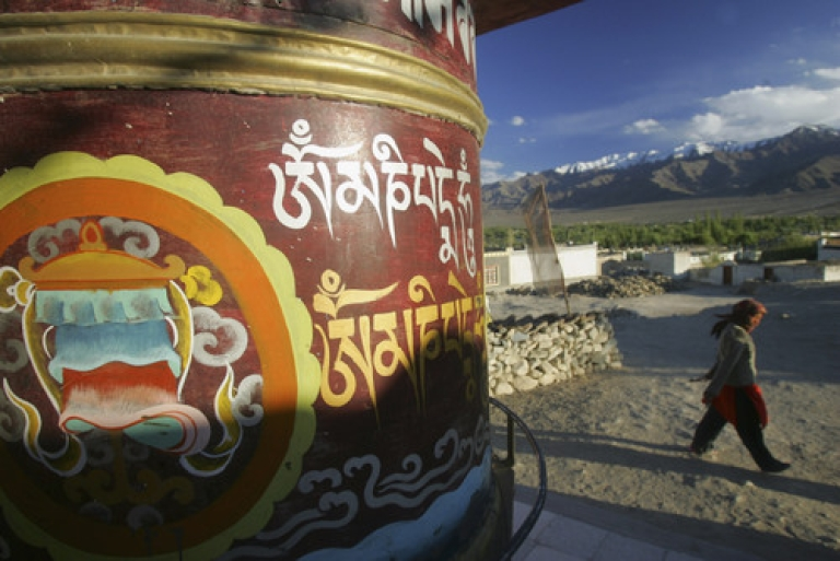 <p>China cancelled planned talks with India over the two countries' border dispute last month due to a dispute over the Dalai Lama.  Talks are now set to resume in January.</p>