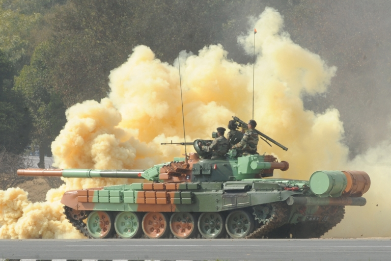 <p>India's spending on imported weapons was responsible for the 24 percent growth in the global arms trade industry, according to a report released by the Stockholm International Peace Research Institute on March 19, 2012.</p>