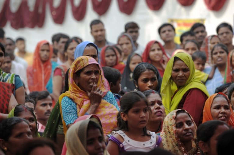 <p>India's Congress-led United Progressive Alliance government has sought to leverage economic growth to alleviate poverty through heavy spending on social programs. But a rising deficit is making those programs more difficult to support, even as business clamors for progress on stalled economic reforms.</p>