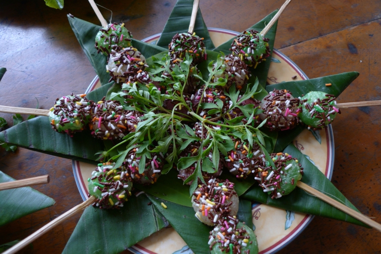<p>Sprinkle kebabs. This dish won points for creativity, but failed to grab gold.</p>