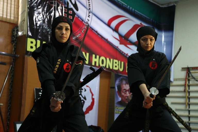 <p>Martial arts has become popular among Iranian women in recent years as more than 3,000 women train in Ninjutsu in private clubs under the supervision of the Islamic republic's Martial Arts Federation.</p>