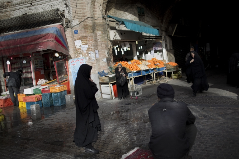 <p>Times are getting tougher in Iran as the sanctions set in.</p>