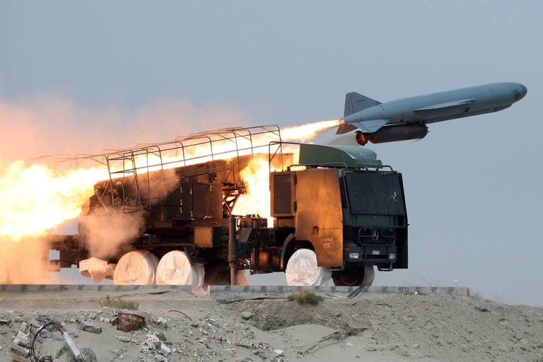 <p>Iran has been testing missiles with nuclear capabilities that could knock out U.S. bases in the Gulf.</p>