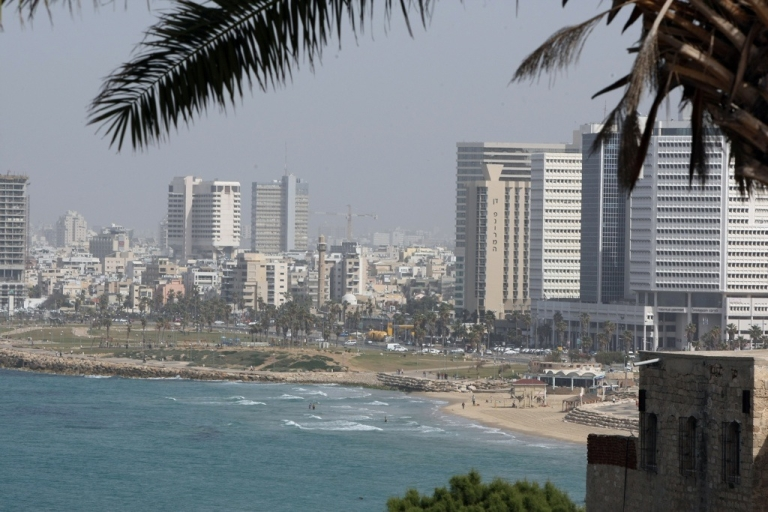 <p>A view of Tel Aviv from the ancient port city of Jaffa on Feb. 19, 2010.</p>