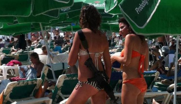 <p>Only in Israel. (And in movies with Angelina Jolie.)</p>