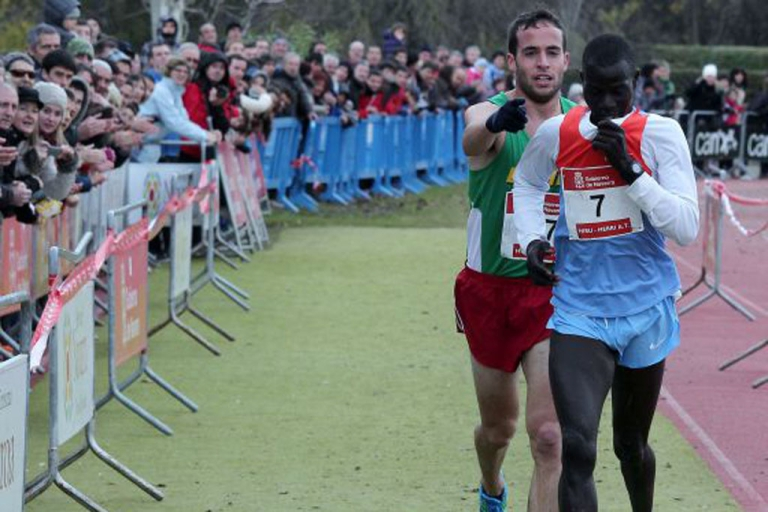 <p>Spanish runner Iván Fernández Anaya encourages Olympic bronze medallist Abel Mutai of Kenya across the finish line during a cross-country running event in Spain last December. Mutai slowed as he neared the finish line, believing he'd won when he was still several meters from the tape. Realizing his competitor's mistake, Anaya approached Mutai from behind and motioned him to the proper finishing line.</p>
