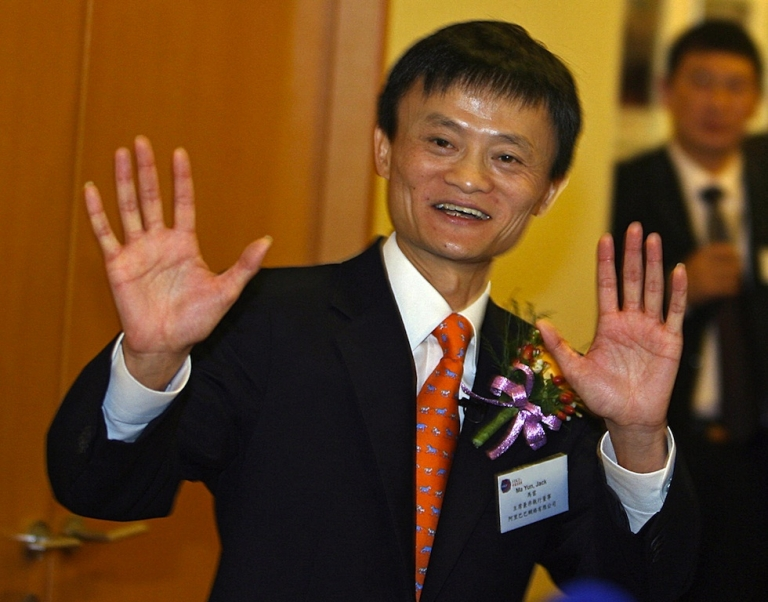 <p>Alibaba chairman and chief executive Jack Ma.</p>