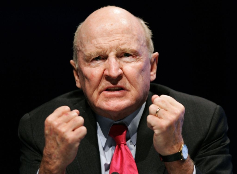 <p>Former GE Chairman, Jack Welch, is ready to fight.</p>