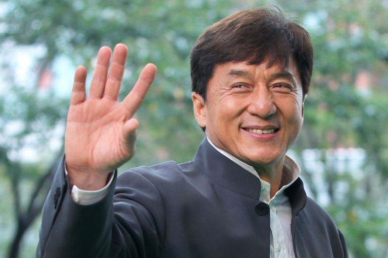 <p>Director and actor Jackie Chan at the 24th Tokyo International Film Festival, Oct. 22, 2011.</p>