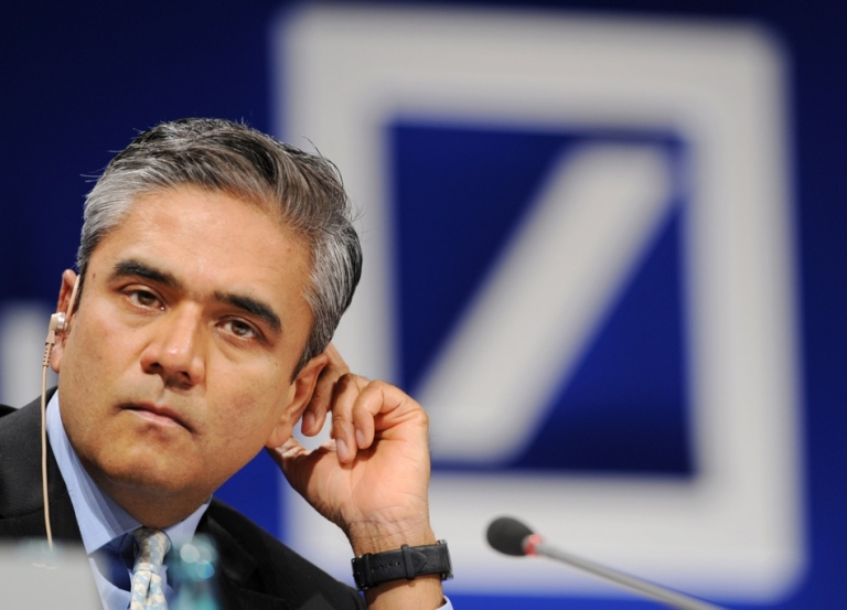 <p>The George Clooney of banking? Anshu Jain, an Indian-born investment banking rock star, is slated to head Deutsche Bank.</p>
