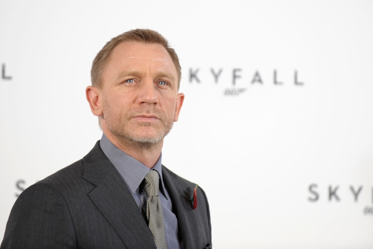 <p>Daniel Craig attends a photocall with cast and filmmakers to mark the start of production on the 23rd Bond film