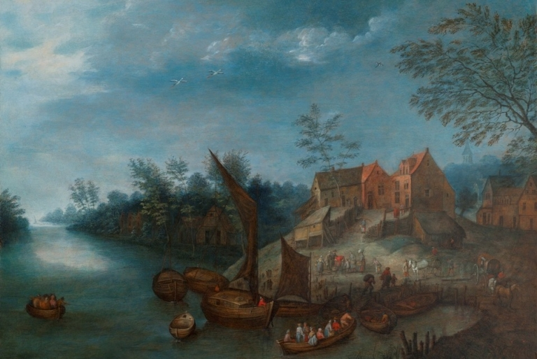 <p>A painting by Jan Brueghel.</p>