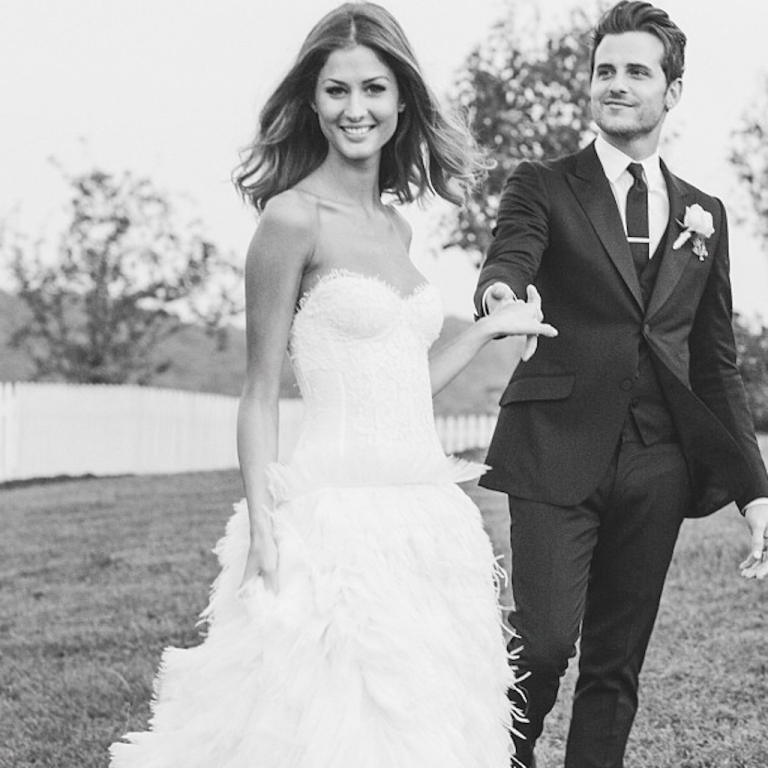 <p>Kings of Leon bassist Jared Followill marries model Martha Patterson.</p>