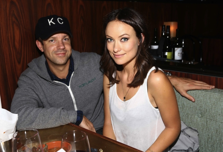 <p>Actors Jason Sudeikis and Olivia Wilde attend Glamour Presents 'These Girls' at Joe's Pub on October 8, 2012 in New York City.</p>
