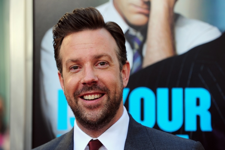 <p>Jason Sudeikis arrives for the Los Angeles premiere of 'Horrible Bosses,' June 30 2011 at Grauman's Chinese Theater in Hollywood, California.</p>