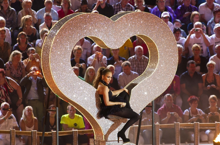 <p>J Lo: Soldier of Love</p>