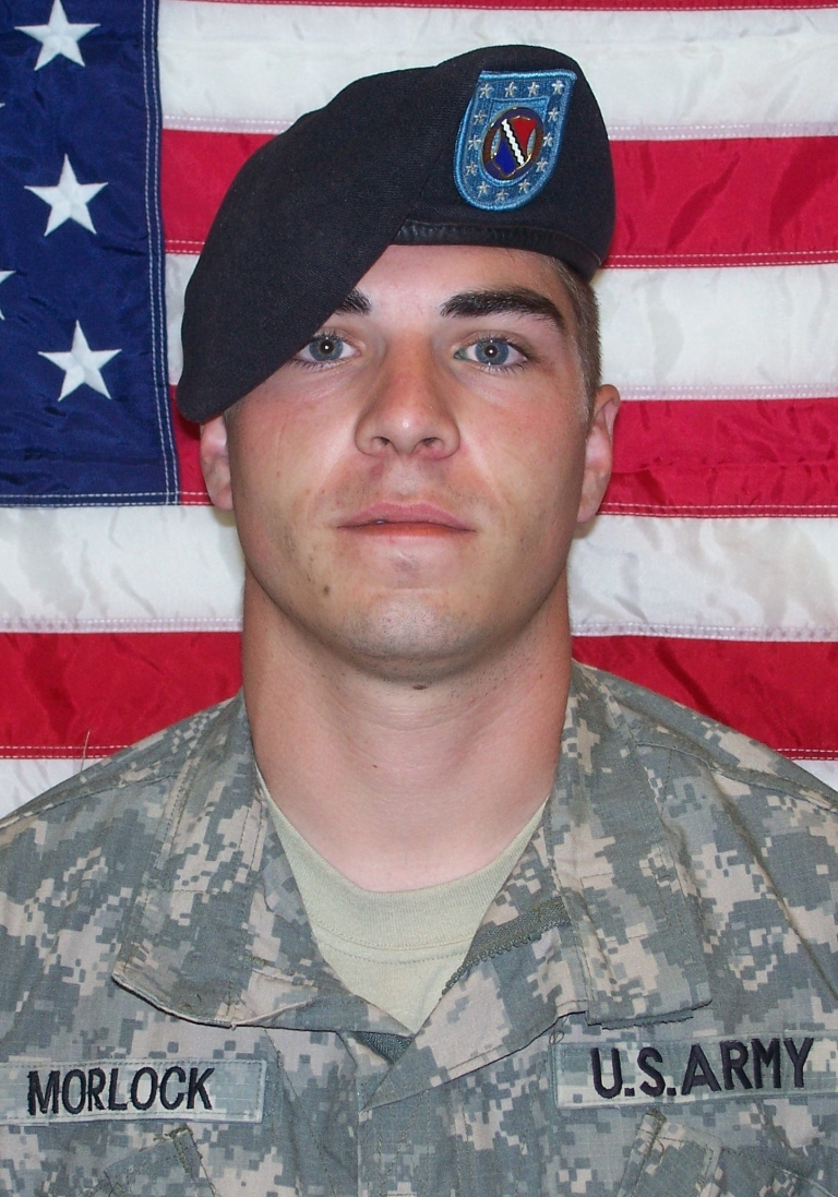 <p>U.S. Army Corporal Jeremy Morlock poses for a photo in an unspecified location. Morlock is under investigation after photos published by German news magazine Der Speigel show him and another soldier smiling and posing with the bodies of Afghan civilians they allegedly murdered.</p>