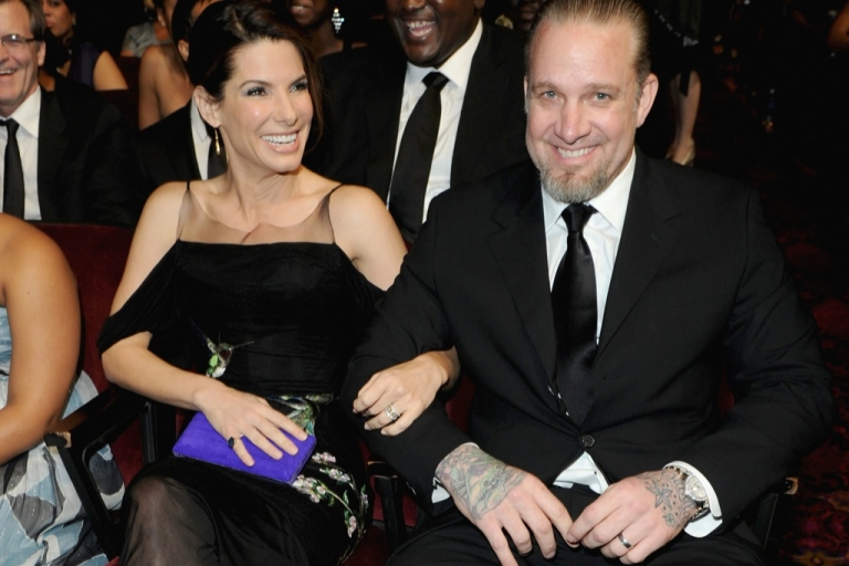 <p>Sandra Bullock split from her bad boy husband, Jesse James, after learning he cheated on her with a tattoo model.</p>