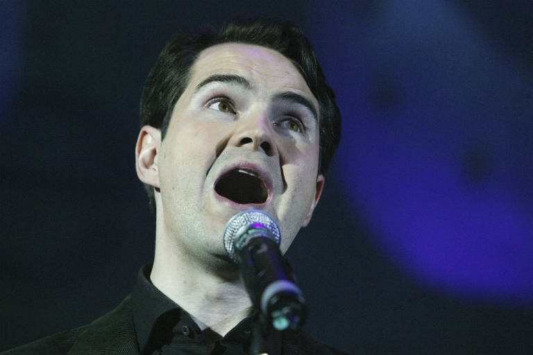 <p>Stuffing all your money in a Jersey shell company? Not very funny for Jimmy Carr; hilarious if you're a Conservative, says Prime Minister David Cameron.</p>