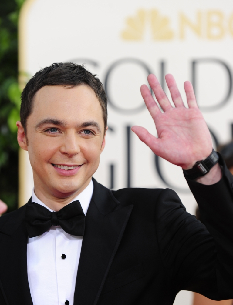 <p>Actor Jim Parsons arrives on the red carpet for the 68th annual Golden Globe awards at the Beverly Hilton Hotel in Beverly Hills, California January 16, 2011. Parsons came out of the closet in a New York Times profile published Wednesday.</p>
