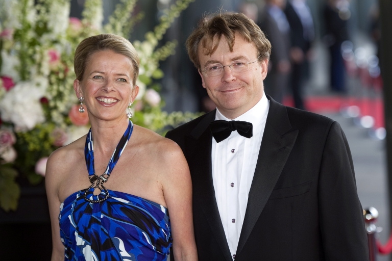 <p>Dutch Prince Johan Friso photographed with wife Princess Mabel in May. On Friday doctors said the prince is in a coma and may never regain consciousness after being injured in an avalanche while skiing off-trail in Austria last week.</p>