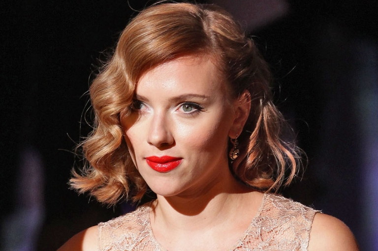 <p>Actress Scarlett Johansson attends the Dolce &amp; Gabbana Spring/Summer 2012 fashion show as part Milan Womenswear Fashion Week on September 25, 2011 in Milan, Italy.</p>