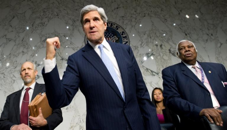 <p>Senator John Kerry on Dec. 20, 2012 in Washington, D.C.</p>