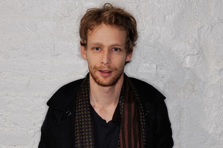 <p>Actor Johnny Lewis visits the Tribeca Film Festival 2011 portrait studio on April 23, 2011 in New York City.</p>