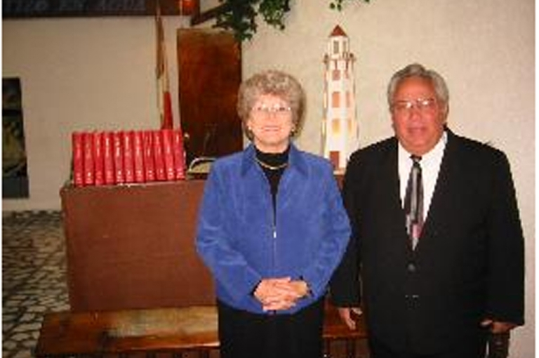 <p>John and Wanda Casias, husband and wife, appear in this photograph on their website, casias.org. The couple were found murdered on Tuesday.</p>