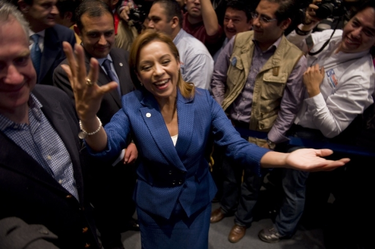 <p>Josefina Vazquez Mota. But how far will she get?</p>