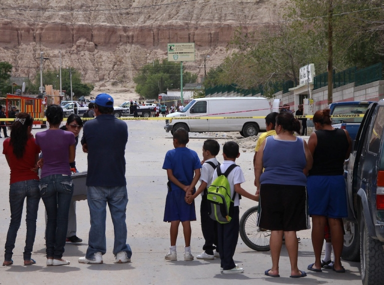 <p>Residents of Juarez confront daily violence</p>