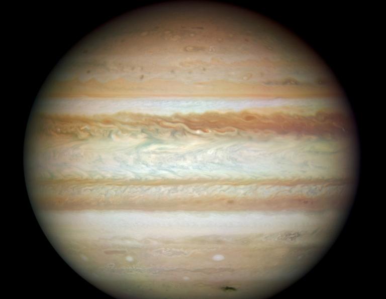 <p>Jupiter is pictured July 23, 2009.</p>